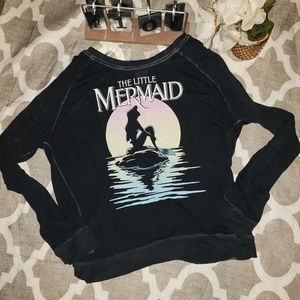 Disney Tops - Disney's The Little Mermaid Long Sleeve Shirt